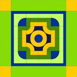 Basic Building Block Quilt