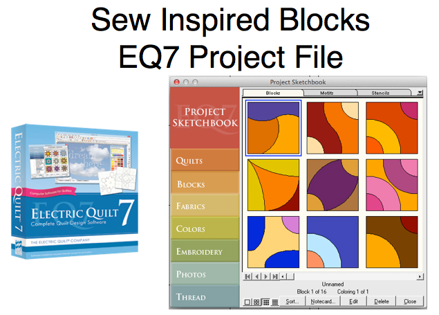 Sew Inspired Blog Archive Media Files Books Videos And Electric Quilt Block Collections